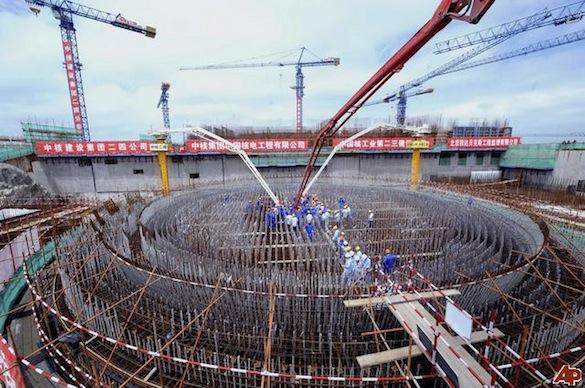 jaderná energie - jaderná elektrárna Čína