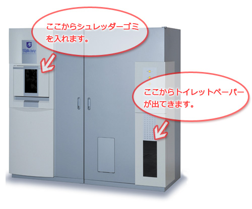 Japonsko White Goat - výroba toaletního papíru v kanceláři