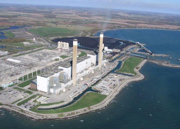 Kanada - uhelné elektrárny - Nanticoke