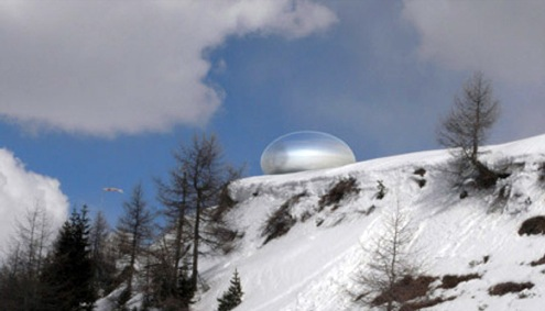alpská kapsle - Ross Lovergrove