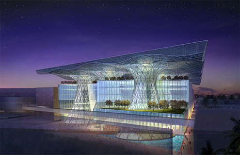 Masdar City - město budoucnosti