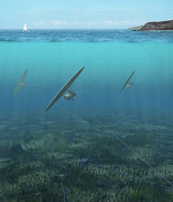 Minesto - Deep Green Underwater Turbine