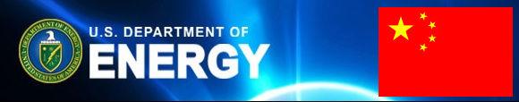 ministerstvo energetiky - Čína USA
