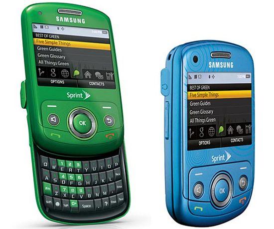 mobilní telefon Samsung Reclaim