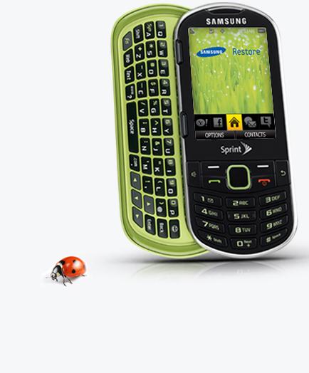 Ekologické bydlení obrázky mobilní telefony Samsung Restore
