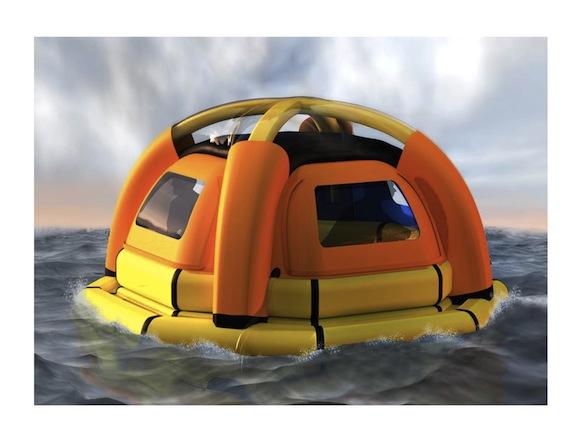 moře - SeaKettle - záchranný člun
