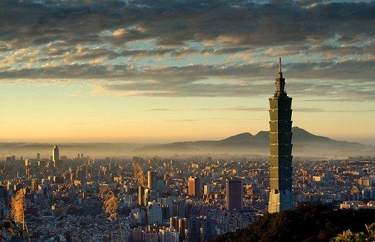 šetrné budovy - mrakodrap Taipei 101