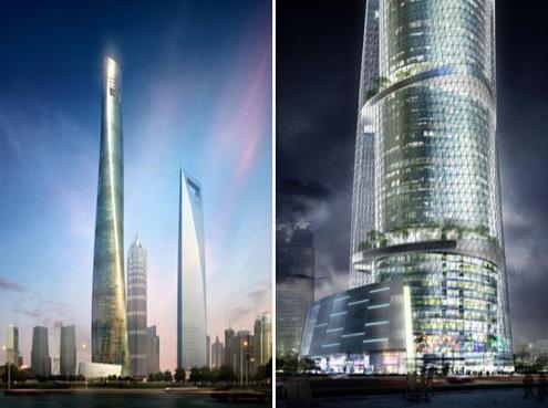 Mrakodrapy - Čína - Shanghai Tower