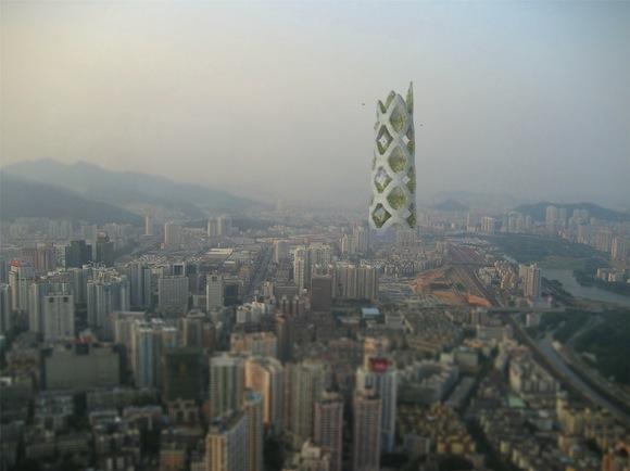 Mrakodrapy - Čína - Shenzen - Logistic City - vertikální město