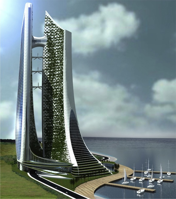 mrakodrapy - eko-kybernetické město