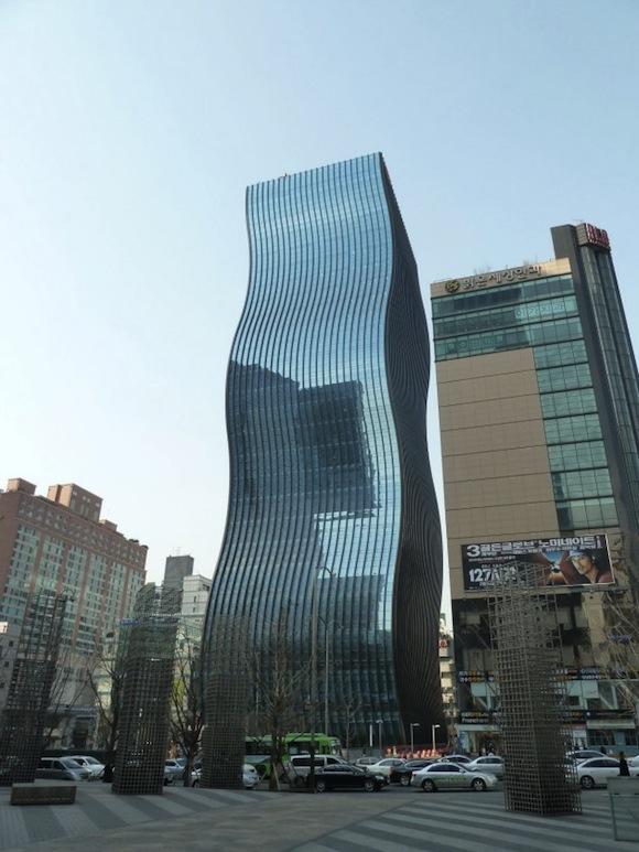 mrakodrapy GT Tower Soul Jižní Korea