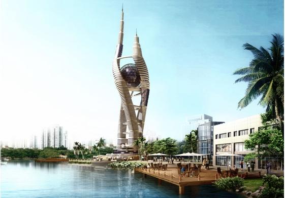 mrakodrapy - Káhira Space-Scraper