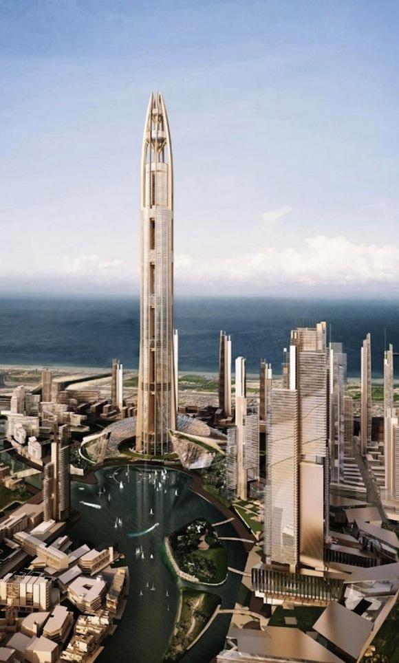 mrakodrapy - Nakheel Tower