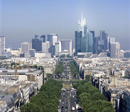 mrakodrap Generali v Paříži