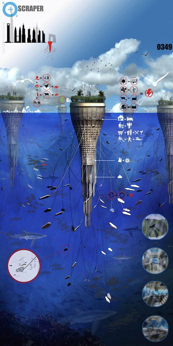 mrakodrapy water skyscraper