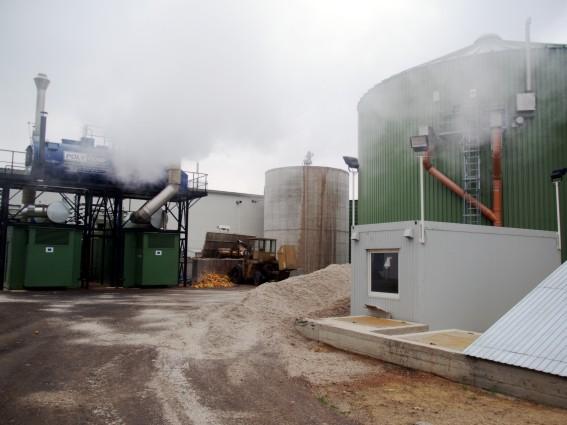 obnovitelné zdroje energie - bioplynová stanice Zevo