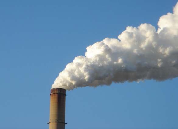 Ochrana ovzduší - kouřící komín