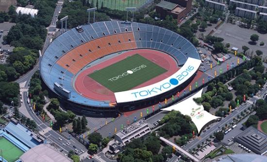 Olympijské hry Japonsko 2016 - olympijský stadion