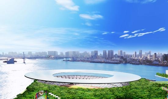 Olympijské hry Japonsko 2016 - solární stadion