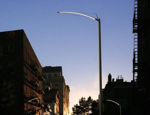 New York - pouliční LED osvětlení