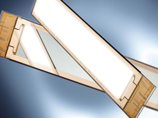 osvětlení OLED technologií - lampa Early Future Lamp Inigo Maurera