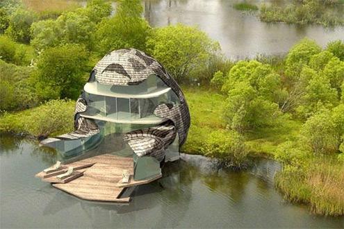 pasivní bydlení Orchid House