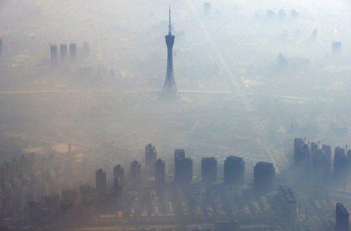 Ovzduší v Pekingu