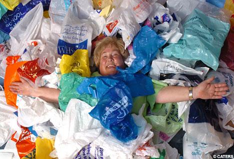 plastikové pytle