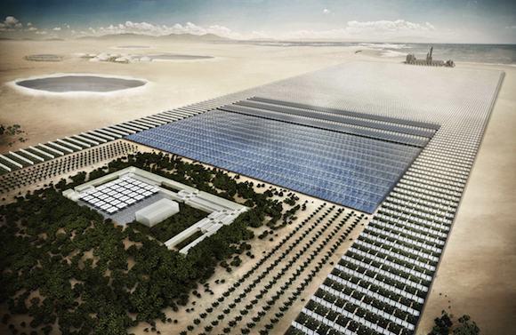 pouště Sahara Forest Project