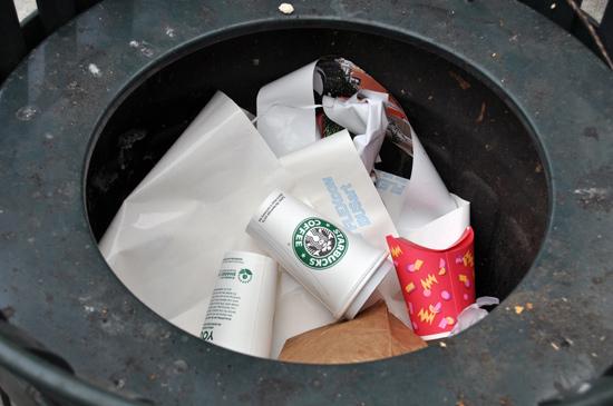Trash Tag odpadky