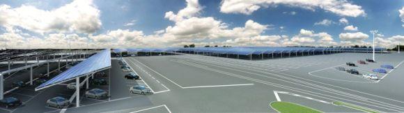 Renault - solární střechy