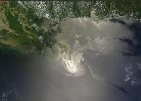 Ropa - Ropná skvrna v Mexickém zálivu