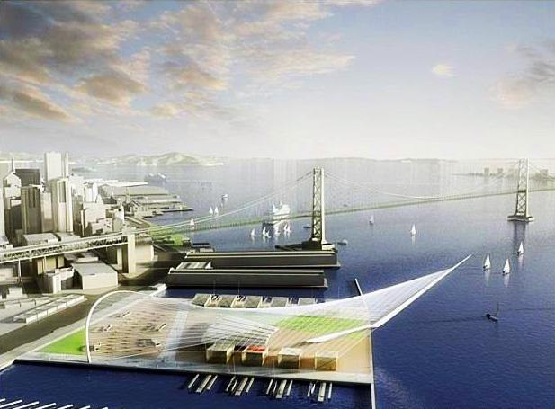 San Francisko - americký pohár - jachtaření - amfiteátr