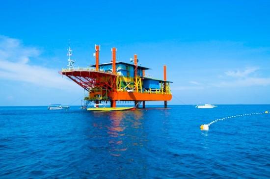 Seaventures - Hotel - ropná plošina
