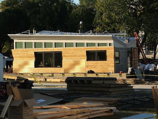 šetrné budovy - Solar Decathlon - dřevostavba