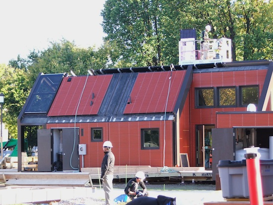 šetrné budovy - Solar Decathlon - dům