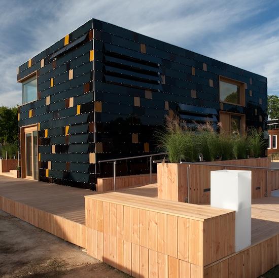 šetrné budovy - Solar Decathlon - Německo - dům