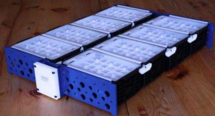 sodiko-iontová baterie