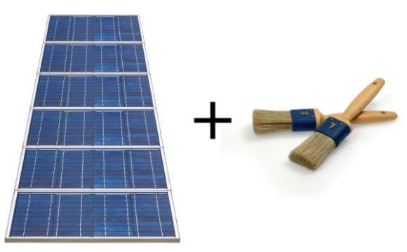 Solární články v barvě