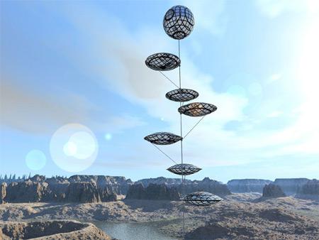 Solární balónky