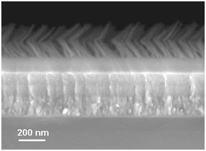 solární články - speciální protiodrazová vrstva