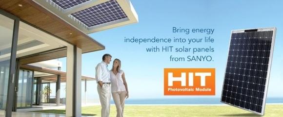 Solární články Sanyo
