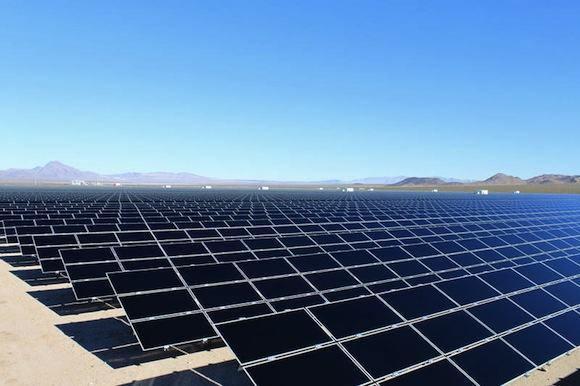 solární elektrárny Copper Mountain Sempra Generation tenkovrstvé solární články