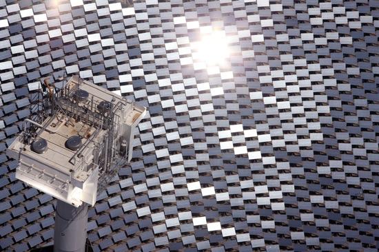 solární elektrárny - eSolar Sierra SolarTower