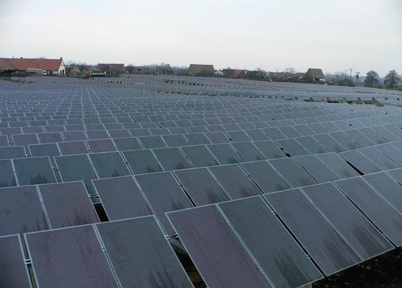 solární elektrárny - Jaroslavice 2