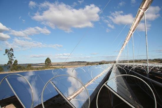 Koncentrační solární elektrárny Ausra
