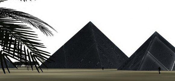 solární elektrárny lunar cubit solární pyramidy
