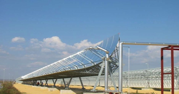 solární elektrárny - Solana