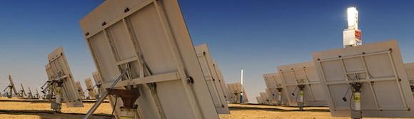 solární elektrárny - termální BrightSource