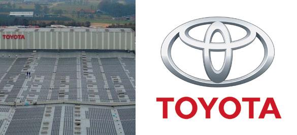 solární elektrárny - Toyoty TPCE